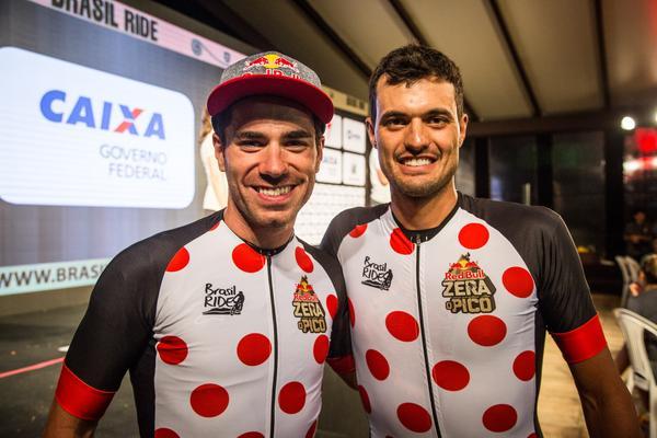 Henrique Avancini e Lucas Gomes vencedores do Desafio da Red Bull (Fabio Piva Brasil Ride)