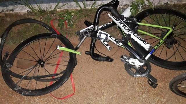 Ciclista morre atropelado enquanto pedalava com amigos na GO-469, em Abadia de Goiás