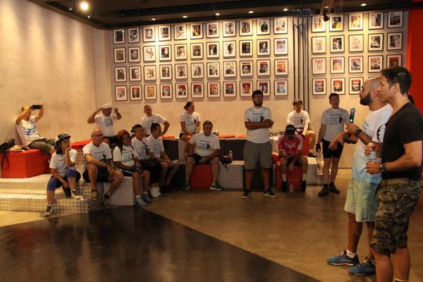 Debate na última edição do Pedal das Capivaras (JB Carvalho Shimano)
