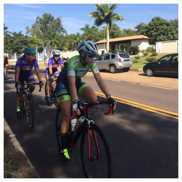 A atleta de 17 anos competiu na 'Elite' com a Audax Ventus S23. Foto Letícia Neves.