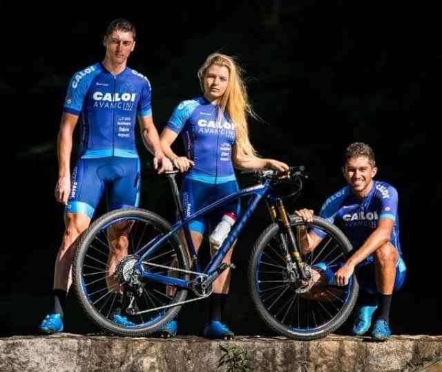 Trio da Caloi Avancini Team (Hudson Malta Divulgação)