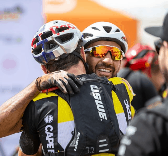 Cape Epic 2019 Equipe Cannondale divulga queda da dupla Avancini e Fumic (2)