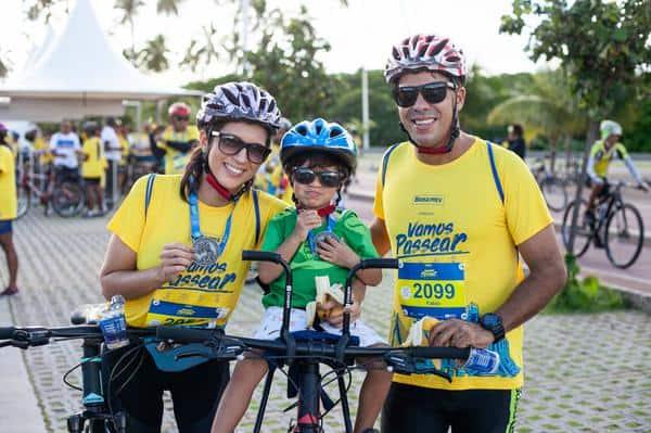 Familia unida no ciclismo (@ericasoledadefotografia)