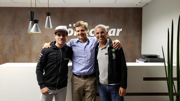 Henrique Avancini, Felix Cardamone e Mario Roma(Divulgação)