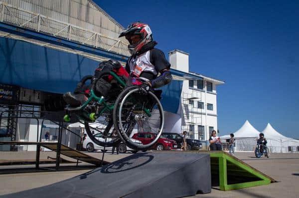 WCMX é modalidade radical para cadeirantes(Divulgação)