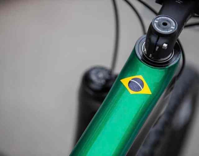 A máquina que Avancini vai usar na Copa do Mundo de XCO 2019