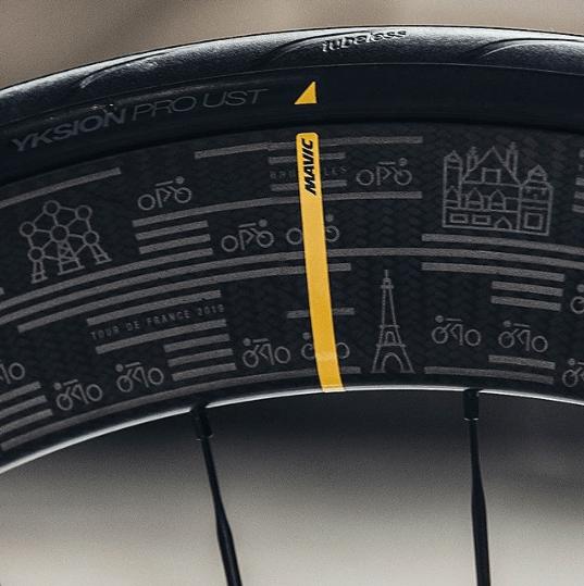 Mavic lança linha de rodas comemorativas do Tour de France 2019 (7).png