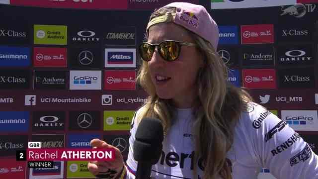 Resultados do DH na 3ª etapa da Copa do Mundo 2019 em Vallnord, Andorra - Feminino (1)