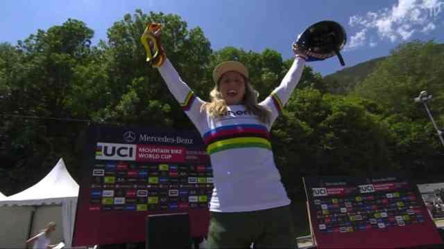 Resultados do DH na 3ª etapa da Copa do Mundo 2019 em Vallnord, Andorra - Feminino (2)