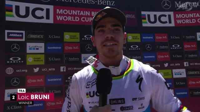 Resultados do DH na 3ª etapa da Copa do Mundo 2019 em Vallnord, Andorra - Masculino (3)