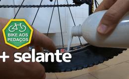 líquido selante no pneu