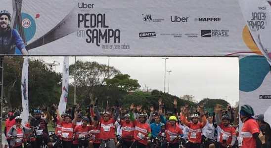 Pedal em Sampa