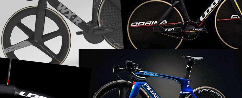 3 bikes de pista