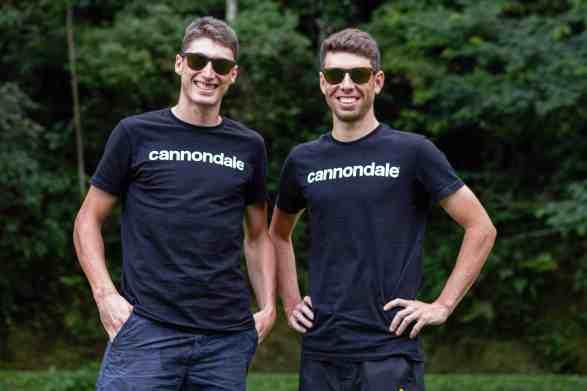 Equipes Caloi e Cannondale