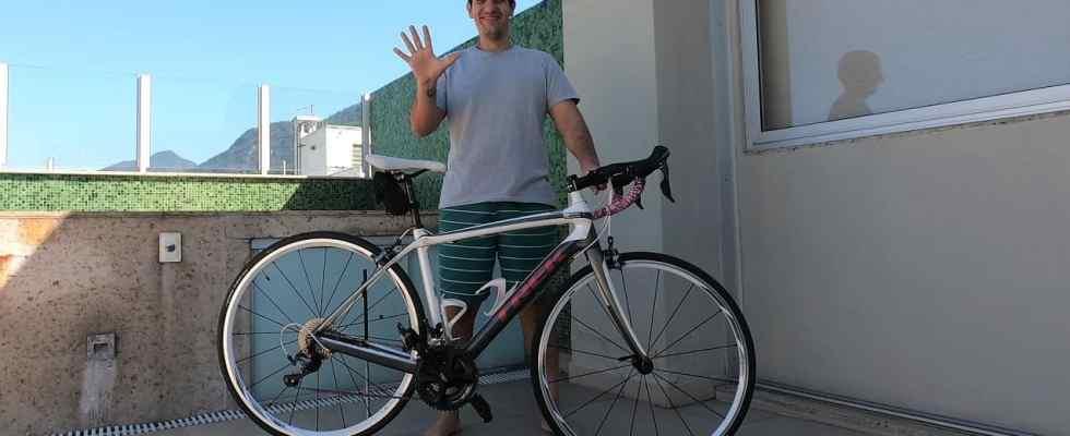 verificação na bike