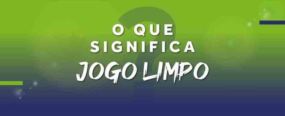#DiaDoJogoLimpo