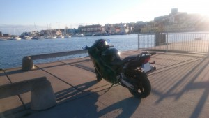 Kväll vid Marstrand.