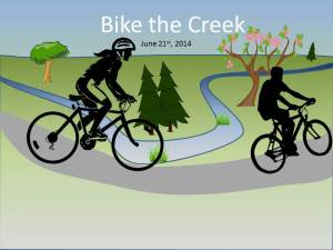 Bike the Creek logo