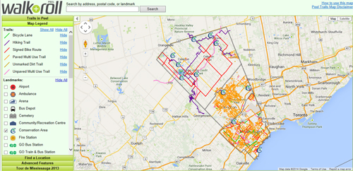 BikeBrampton Trail Maps And Routes BikeBrampton - Us bicycle route system map