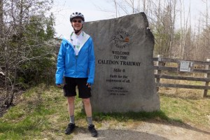 2014 21 David at Caledon Trailway Mile 0_750