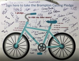 Celebrampton 2014 Cycling Pledge signatures_700