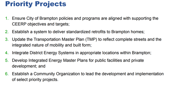 CEERP Priority Projects