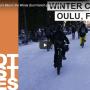 Winter Cycling Oulu Finland