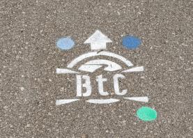 BTC route marker