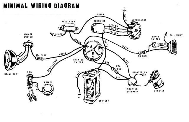 Cafe Racer Wiring