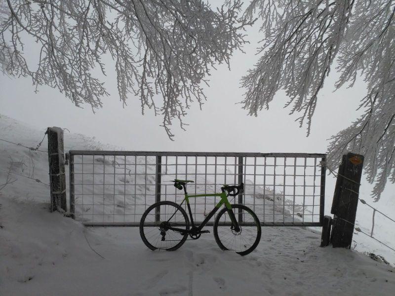 Cyclocross Winter Nebel