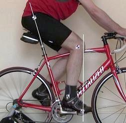 KOPS Knee over pedal spindle