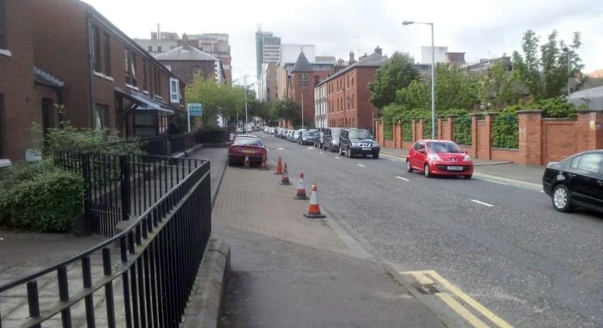 Hamilton Street in Belfast