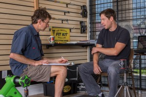 bike fitting interview