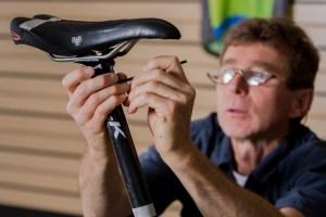 bike fitting seat adjustment