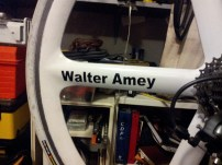 Walter Ameys' name added to the Bike of Angels, RIP my Friend.