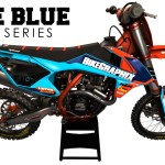 Ktm Lite Blue Semi Custom Motocross Graphics Bikegraphix