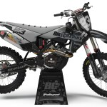 Bikegraphix Motocross Graphics Number Plate Backgrounds