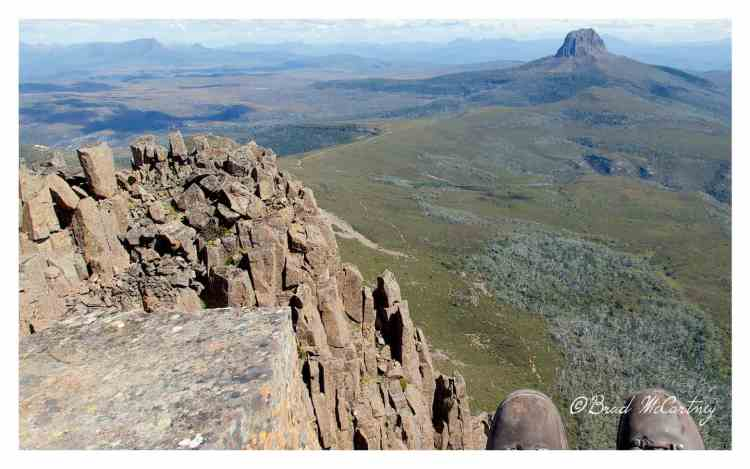 Top of Cradle Mountain