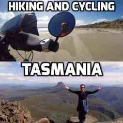 cycling and hiking tasmania