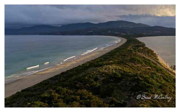 View of the Neck, Bruny Island