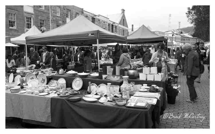 Salamaca Markets Hobart
