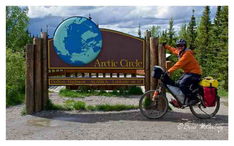 Arctic circle bicycle