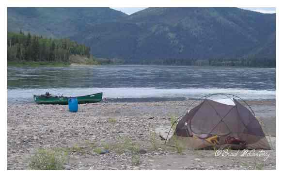 Campsite on an Island