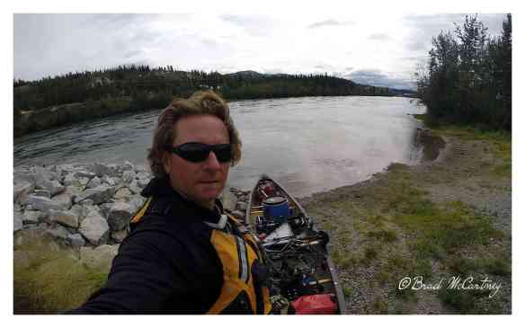 Day 1 leaving Whitehorse on the Yukon River