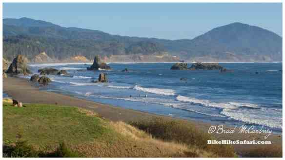 Coastal Scenery at Port Orford