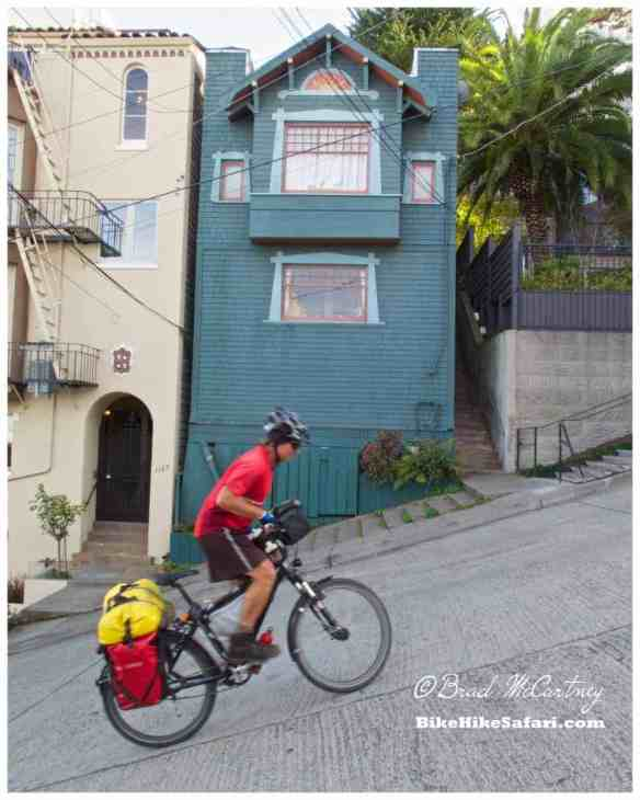 The steepest street in San Francisco!