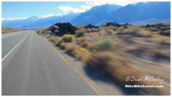 Tailwinds and flat roads equals fast cycling