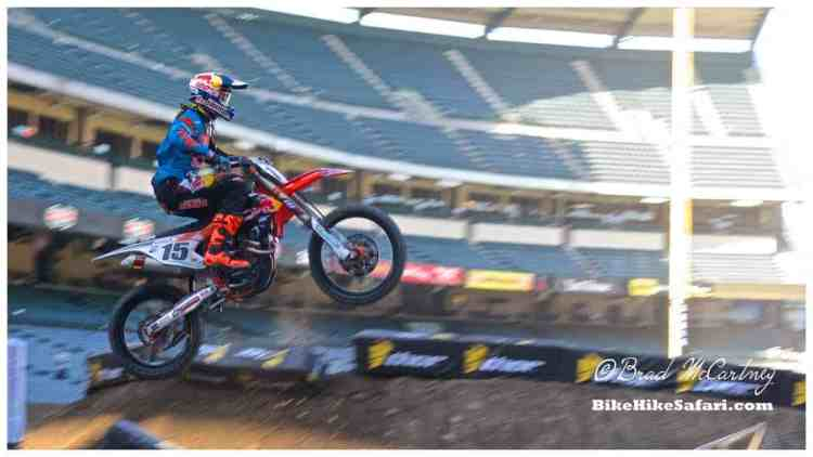 More Supercross action