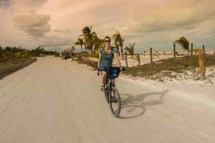 Cycling Isla Holbox