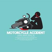 バイクでのもらい事故はかなり厄介だ